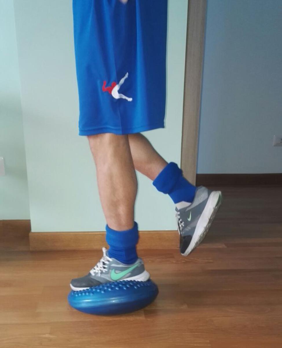 Esercizi di ginnastica di propriocezione